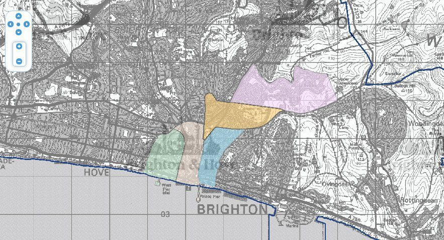 Map Of Smokeless Zones Uk.Brighton Chimney Sweeps Brightons Smoke Control Areas