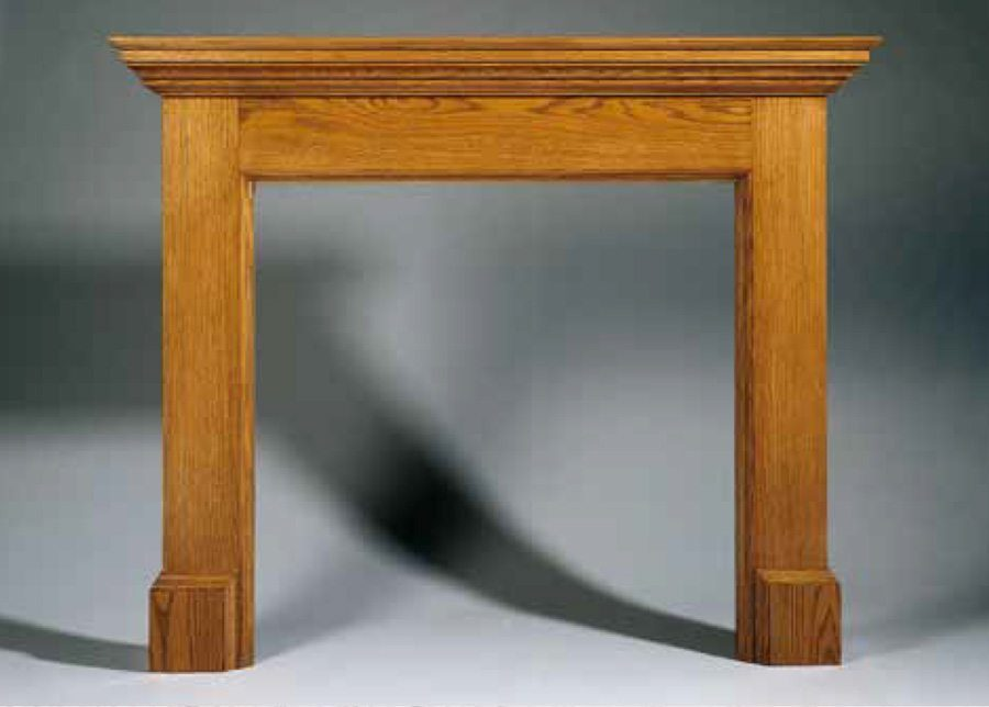 Coulson Contemporary Wood Fireplace Surround Brighton