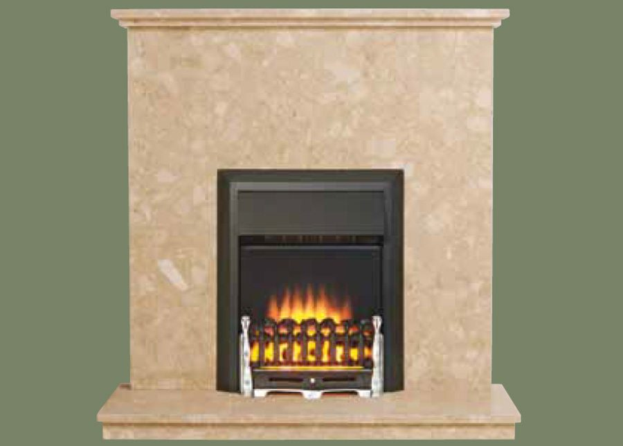how to clean marble fireplace surround