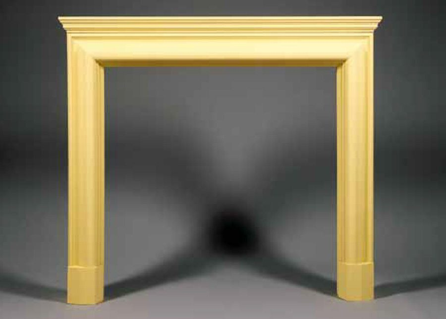 hamilton contemporary wood fireplace surround brighton