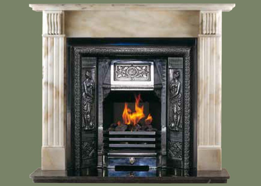 Langhan Marble Fireplace Surround Brighton Chimney Sweeps