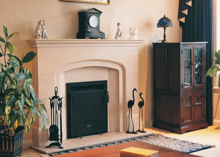 Porchester Stone Fireplace Surround Brighton Chimney Sweeps