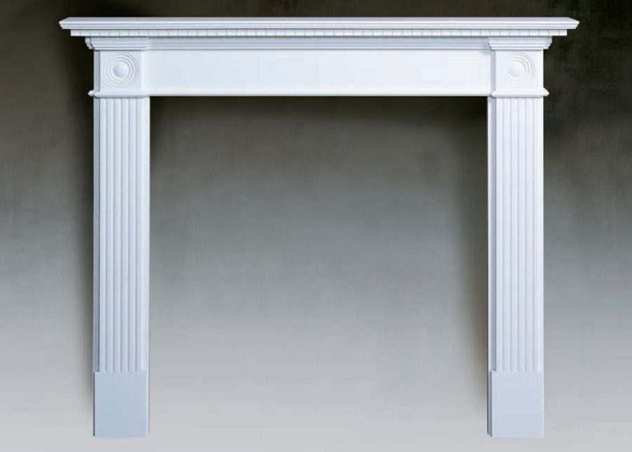 the fielding traditional wood fireplace surround